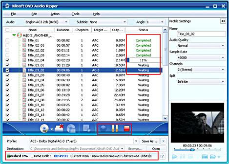 Xilisoft DVD Audio Ripper 5.0.48.0122