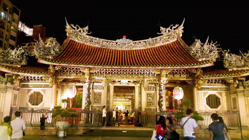 艋舺龙山寺 Lungshan Temple
