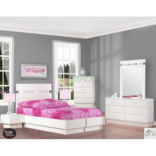 Medium Crop Of White Platform Bed