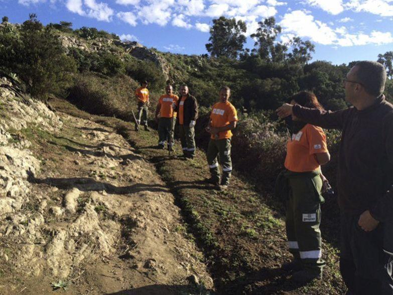 Recuperación de La Cañada de las Vueltas Blancas en La Laguna