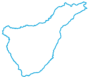 Caminos estructurantes de Tenerife - Croquis Costa