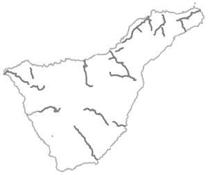 Caminos estructurantes de Tenerife - Croquis Otros caminos - Amigos de La Cañada