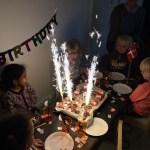 Til fødselsdag hos Sharima