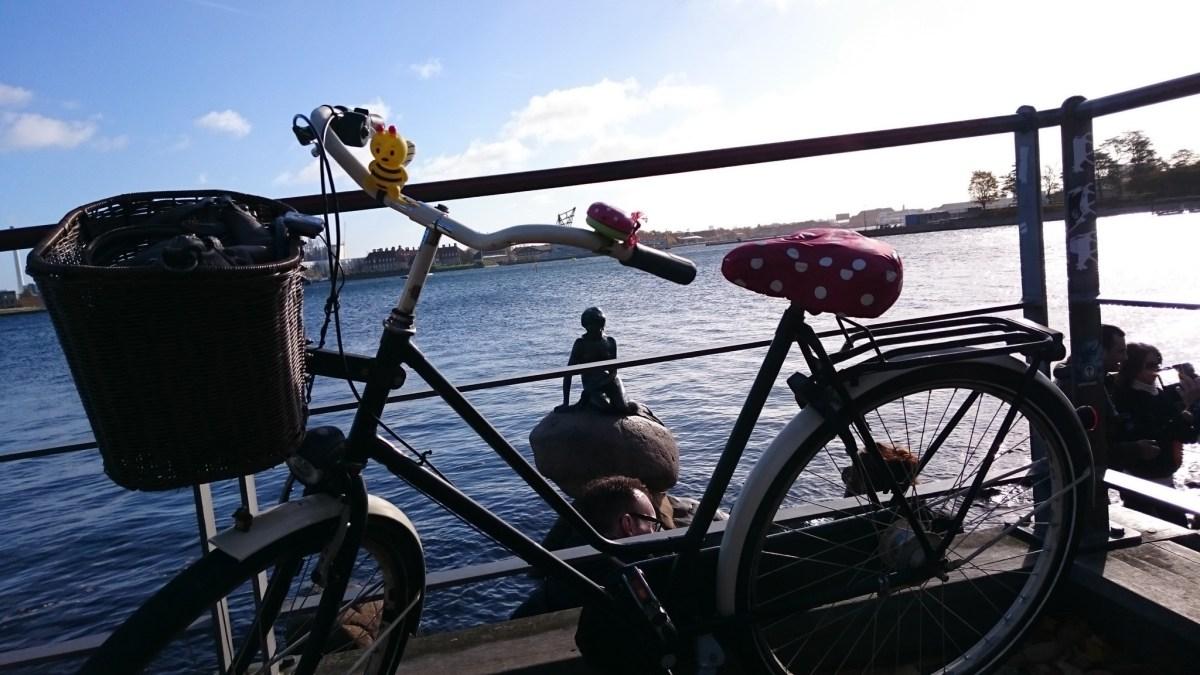 Mit dem Rad durch Kopenhagen
