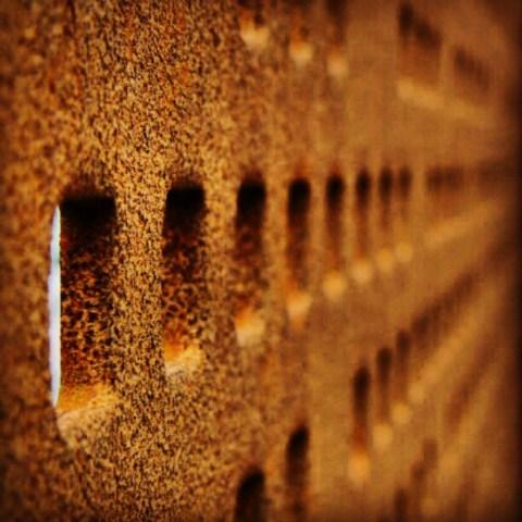Rusty holes