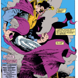 That cloak! Those Kent Williams inks! (Uncanny X-Men #252)