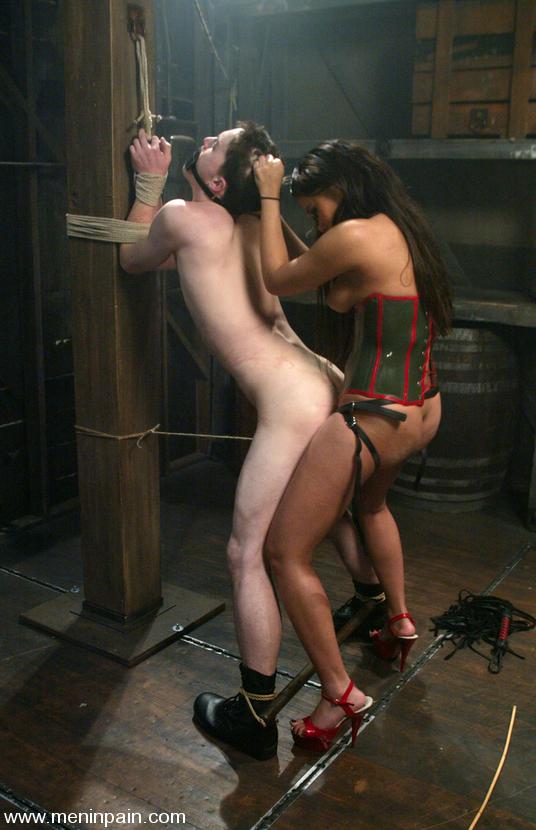 men tied up by women