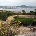 Vom Kastell aus hat man ein herrlichen Blick über die Buch von Cala Millor mit den Bergen im Hintergrund