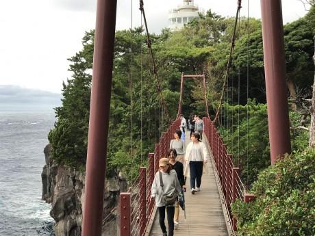 城ヶ崎の吊り橋