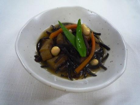 ひじき煮物