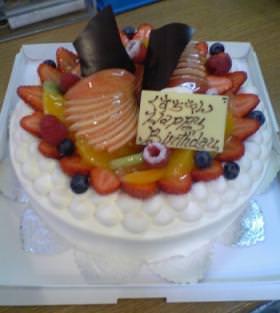 くすちゃんのケーキ