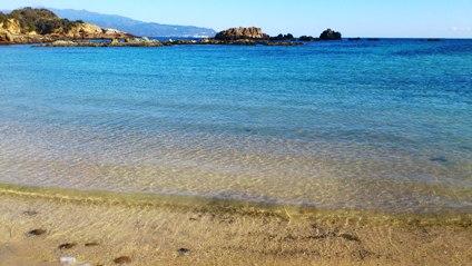 爪木崎の海