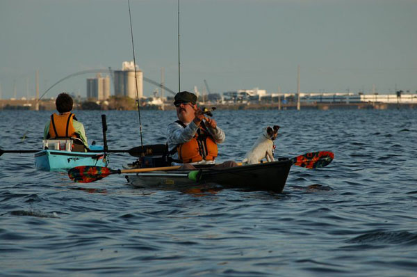 kayak fishing radio host chip gibson