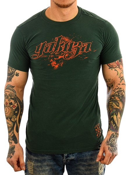 Yakuza T-Shirt TS 23 jungle green_2