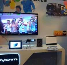 sony demo handycam 3d