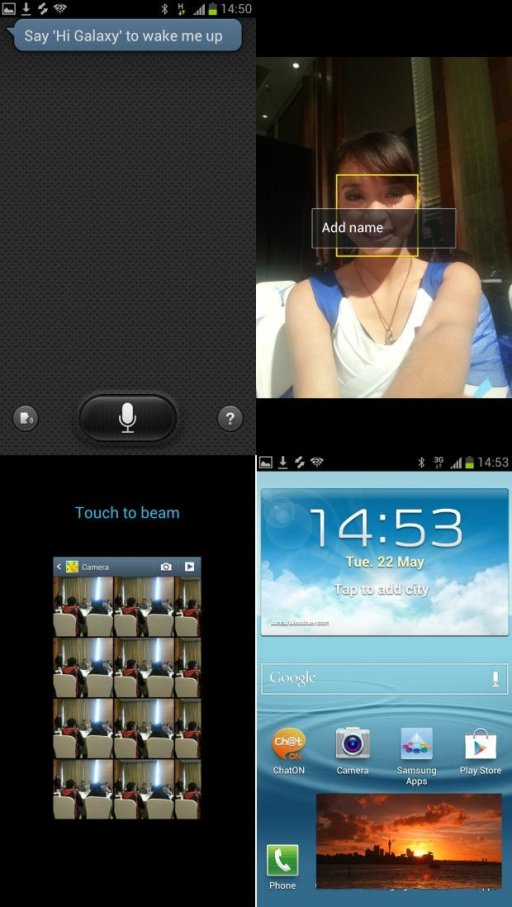 screenshot samsung galaxy s3