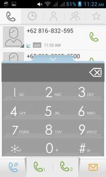 screenshot dialer screen lenovo a390 1