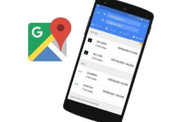 Google Maps GoJek