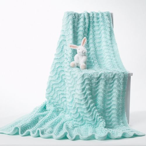 Medium Of Knit Baby Blanket