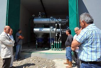 Baraj çıkışına konulan tam otomatik yıkamalı filtrasyon sayesinde üreticilerin damlama hortumlarının tıkanması engellenecek.