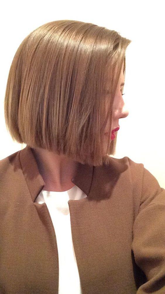 Фото прическа каре русые волосы