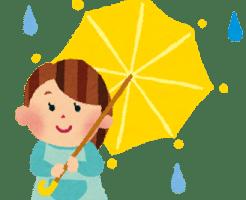 梅雨 イラスト