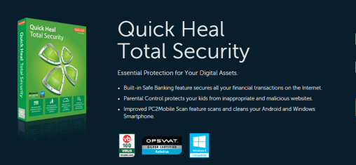 Quick Heal Total Security 2015 Crack and Product Key Download