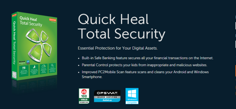 quick heal total security 2015 crack and product key