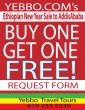 Buy One Get One Free to Addis Ababa Ethiopia. Offer Expires Sep 12, 2011