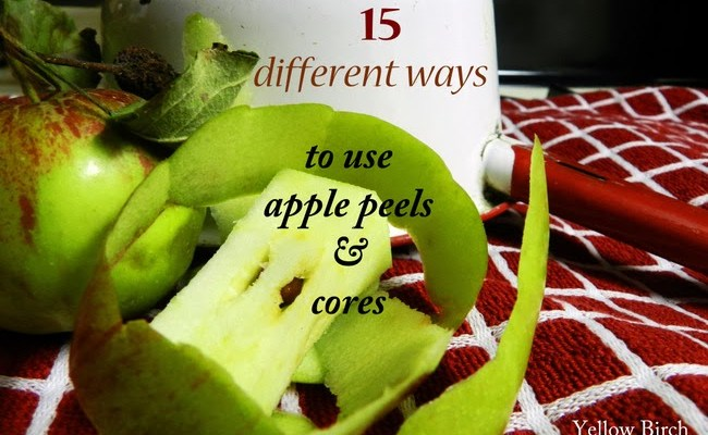 15 ways to use apple peels cores - Practical uses for the apple peels ...
