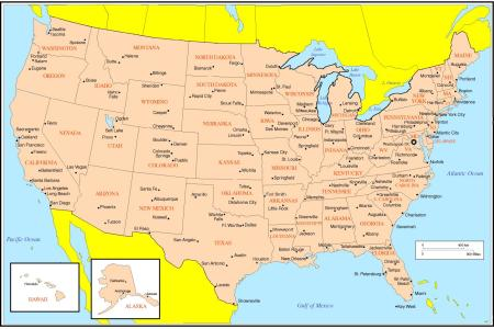 united states online map