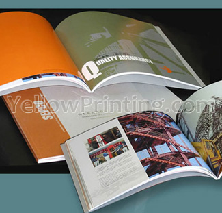 Full Colours Catalog Brochure Printing Services Yellow Printing     Full Colours Catalog Brochure Printing Services