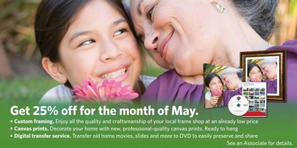 25% Off Video Transfers at Sam's Club
