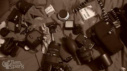 My Camera Bag Puked