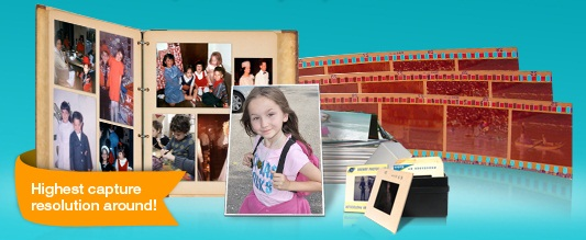 Photo Albums, Prints, Negatives, Slides Digitized onto DVDs