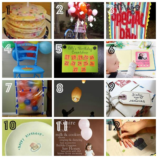 birthday traditions
