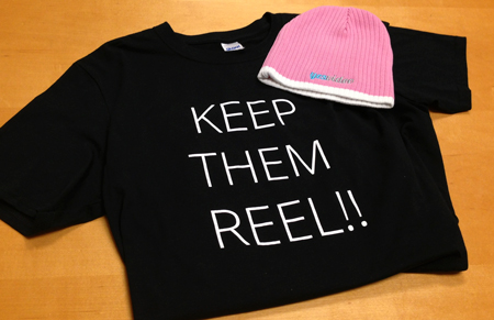 YesVideo Keep Them Reel! Tshirt Beanie