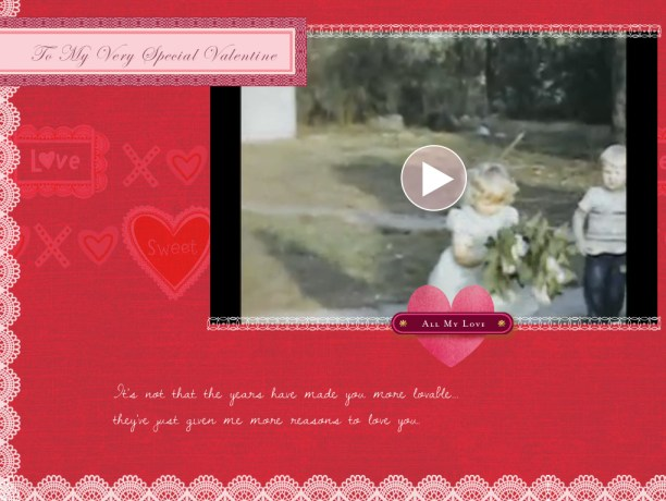 Hallmark Valentine Love Greeting