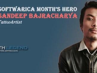 Sandeep Bajracharya-Tattoo Artist, Nepalese Youth, Months Hero