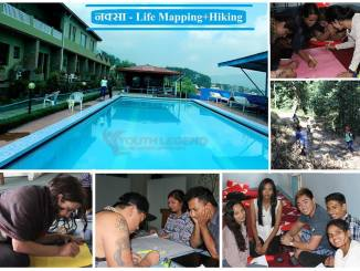 life mapping and life hiking event