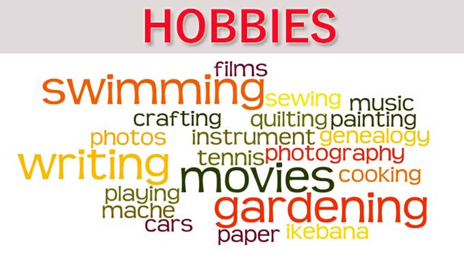 4 Reasons Why You Need A Hobby