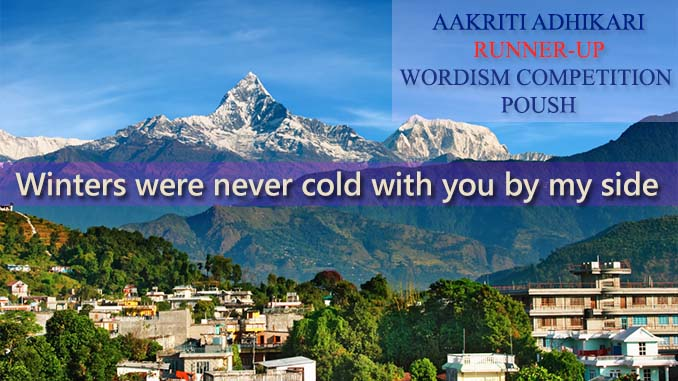 Winter – Aakriti Adhikari, Runner up , Poush 2074