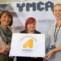 YMCA Norfolk leads the way with youth work award