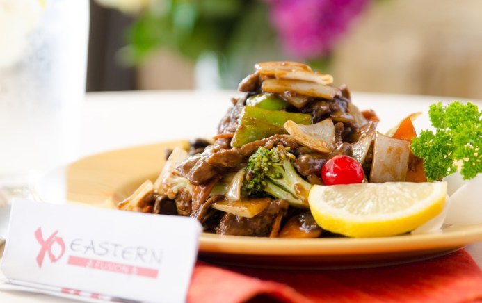 Yo Eastern Fusion Stir Fried Beef With Hoison Sauce