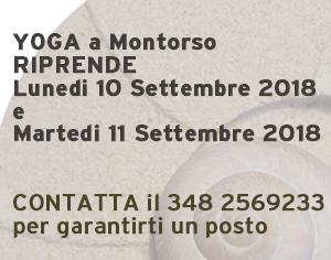 i corsi ripartono il 10 settembre 2018