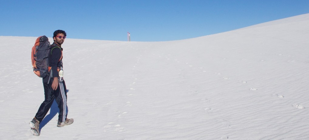Camping in White Sands National Monument