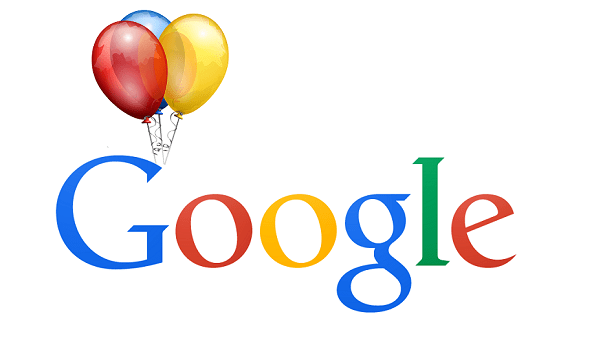 googles 17th birthday