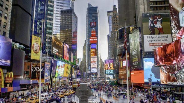 nueva york times square guia viaje