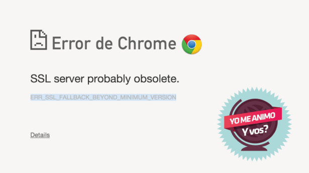 error chrome aplicar visa zelanda