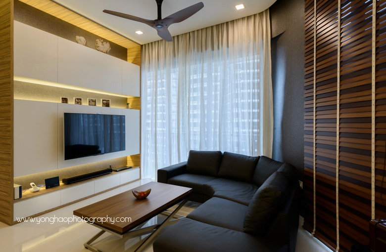 Interior Photography of D'Leedon Unit by Living Gaia